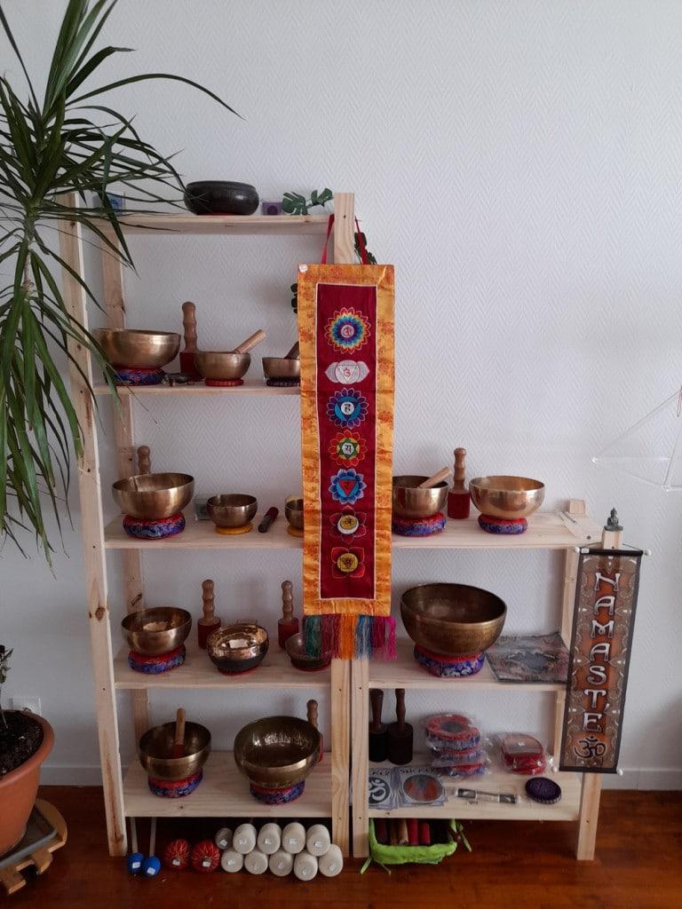 Être à l'écoute : Boutique bols chantants tibétains